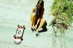 SEBASTIAN PAYNTER #photography #skateboarding #girl