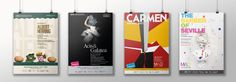 Carrick creative|Mid Wales Opera #poster #advertising #opera