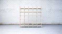 Stavebnice 01 by Jan Plechac & Henry Wielgus #minimalist #bookshelf