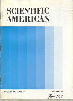 Scientific American June 1972 #scientific american