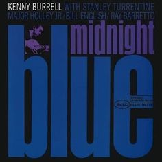 blue note jazz album cover typography