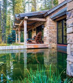 Fishcreek Woods – Tiny Guest Cottage in Jackson, Wyoming