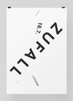 Zufall #feixen #design #graphic #pfffli #poster #felix