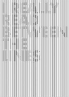 read between the lines by ~emplifya on deviantART #lines #design #the #read #poster #between #typography