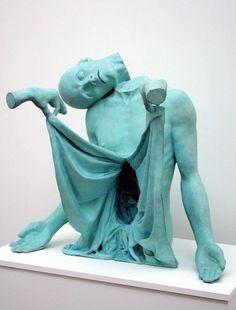 YMFY #sculpture #bizarre #zombie