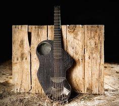 Alpaca Carbon Fiber Travel Guitar #tech #flow #gadget #gift #ideas #cool