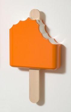 DEAN PROJECT | TIM BERG #cream #ice #popsicle #art