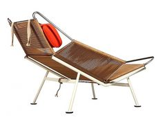 Inspirational Imagery: Flagline Chair by Hans Wegner #hans #chair #1950 #flagline #halyard #wegner #50s