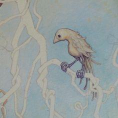 Leontine #illustration #illustrator #bird