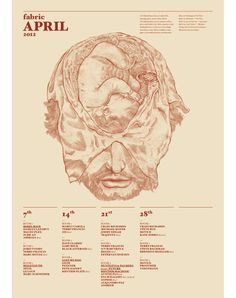Luca Zamoc / Portfolio #illustration #calendar #head #baby