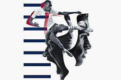 Image for Nike's Brotherhood campaign for the Fédération Française de Football.