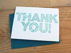 blue thank you bklyn