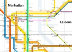 Economics of Subways (vs Cars in NYC) #information #vignelli #map #subway #signage #nyc