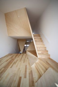 CJWHO ™ (New Kyoto Town House | Alphaville) #house #design #town #interiors #wood #photography #architecture #stairs #luxury