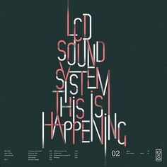 Just our TYPE #music #typography