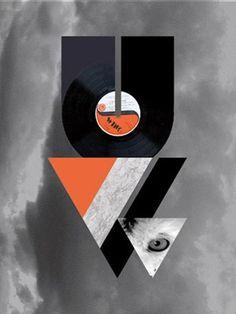 Damien Auriault | Designer graphique | Portfolio #retrofuturist #typography