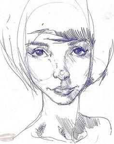 girl | Flickr - Photo Sharing! #sketcbook #illustration #woman