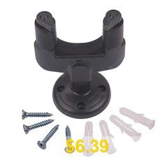 Wall #Hanger #Rack #Hook #Holder #Stand #for #Various #Size #Guitar #- #BLACK