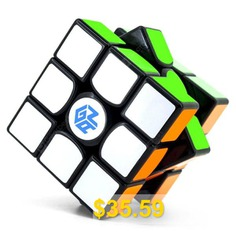 GAN #356 #Air #Stylish #Smooth #3 #x #3 #x #3 #Magic #Cube #- #MULTI-A