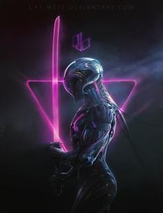 Cyborg Ninjas by cat-meff