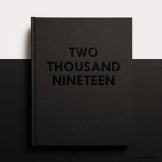 2019 Daily Planner / Diary ∙ Black #design #graphicdesign #typography