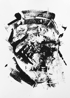 "The Krank - Painting, ""Disorder"" #art #thekrank #berlin #art #urbanart #painting #typography #krank #abstractart"