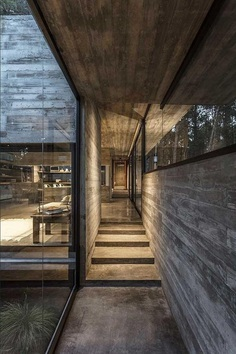 Forest Concrete House by Besonias Almeida Arquitectos 15