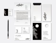 NiceFuckingGraphics! - Blog de diseño gráfico - Part 2 #white #modern #print #black #clean #collateral #stationery #letterhead #package