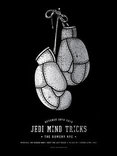 Jedi Mind Tricks — Two Arms Inc. #music #screenprint #poster