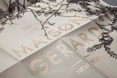 Mother New York » Maison Gerard #maison #print #gerard