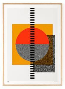 Outlined.cc Limited Edition Artwork South No.1 art geometric print design artprint wallart