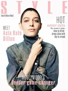 Sunday Times Style Magazine June 2017 Cover with Asia Kate Dillon