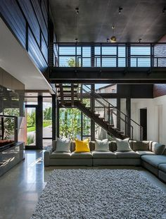 Industrial Modern House Designed to Promote the Outdoors and Active Lifestyle 6