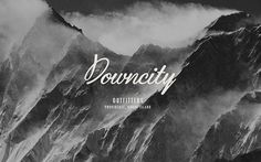 Downcity Outfitters branding #branding #visual identity #stationery