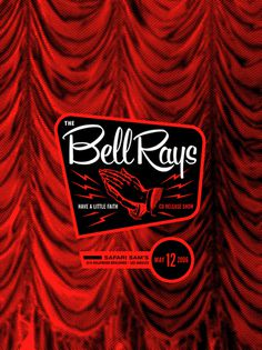 The Bell Rays - Gig Poster