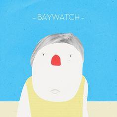 studioastic LABS | studioastic | visuelle kommunikation #studioastic #design #baywatch #illustration #character