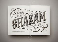 The Great Blandini Jefton Sungkar #shazam #print #magic #typography
