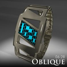 Oblique Watch