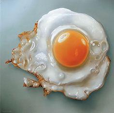 TJALF SPARNAAY GALLERY #yellow #orange #bread #egg