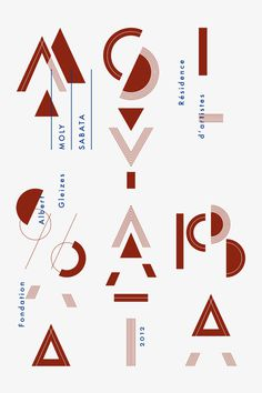 Moly Sabata 2012 Poster #print #illustration #poster #artist #residence #typography