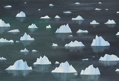 The Collective Loop #water #luke #illustration #twyman #ice