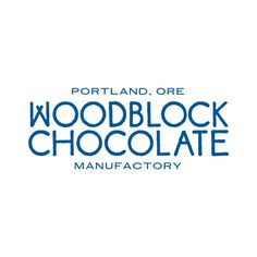 Woodblock Chocolate / Name, Brand Identity, Website & Packaging / The Official Manufacturing Company #logo