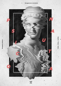 Solve et Coagula on Behance #statue #poster