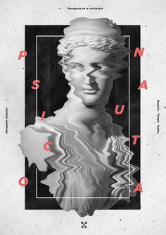 Solve et Coagula on Behance #statue #poster