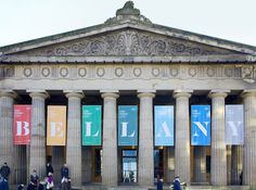 Freytag Anderson National Galleries / Bellany #banner #branding #museum