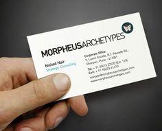 morpheus - Creattica #achetypes #business #branding #morpheus #cards