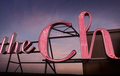 Mucca | Work | The Chelsea #signage #outdoor #lights #neon