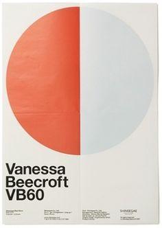 Vanessa Beecroft VB60 - Experimental Jetset #typography #poster #layout #geometric