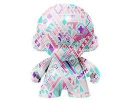 Munny - Art Toy - Mexico. Textura comic on Behance #toy