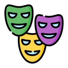 See more icon inspiration related to mask, birthday and party, accessory, carnival, celebration, costume, fashion and party on Flaticon.